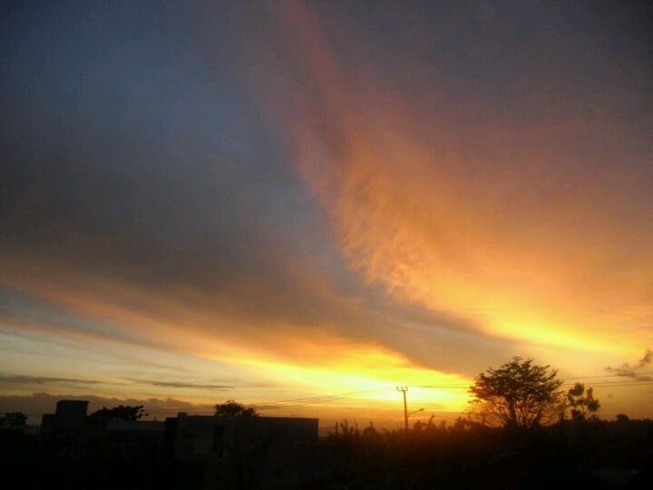 Sunset on Bandung