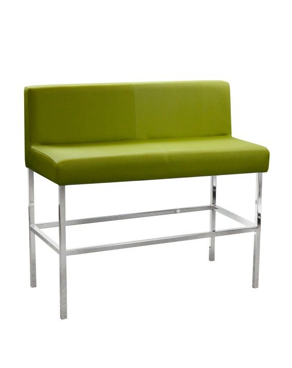 Cube 1602 2-Seat Bar stool with back