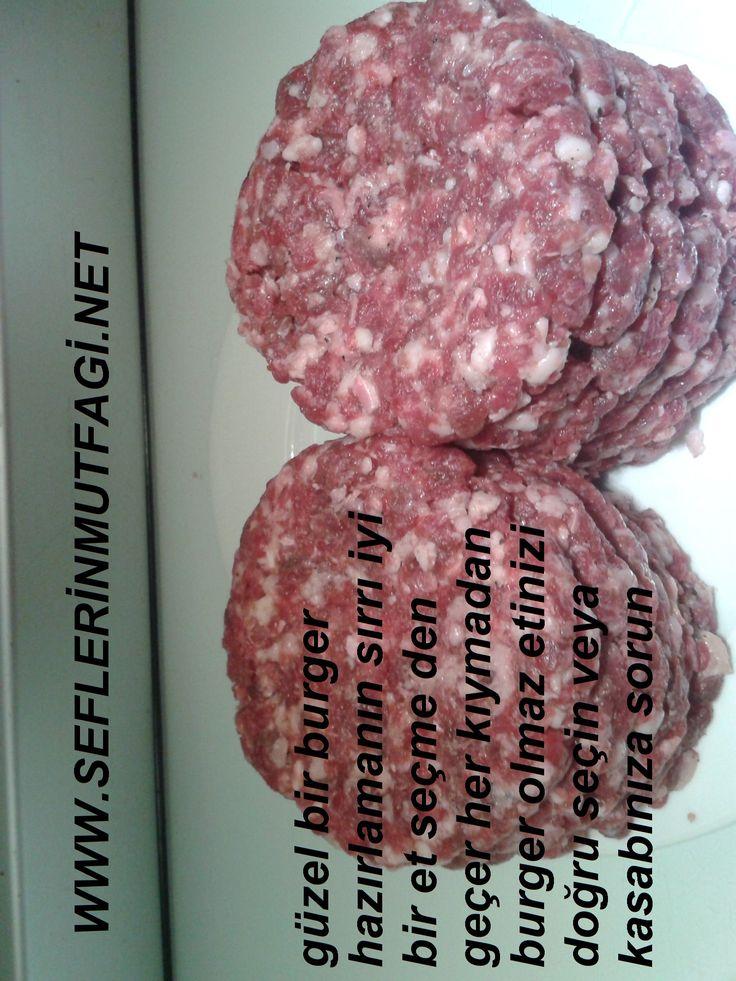 Evde hamburger köftesi nasıl hazırlanır? Hamburger köftesini hamburger makinesiyle pres yaparak sıkıştırarak yapılır ama evimizde hamburger makinesi olmadığı...