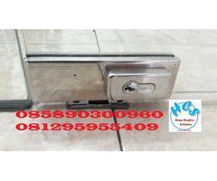 biaya service kunci pintu kaca murah jakarta pulogadung kelapagading sunter tebet cakung
