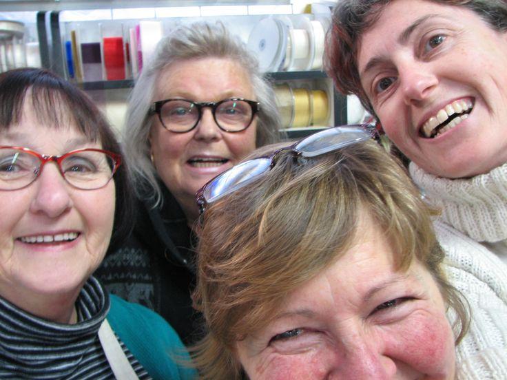 Helen, Heather, Tedge (in front) & Sarah