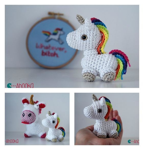 Crochet Tiny Unicorn Amigurumi Free Pattern