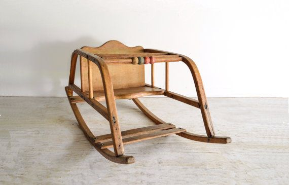 baby rocking chair baby rocker antique baby chair by littlecows