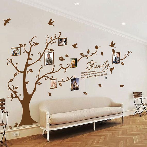 Family Tree Birds Wall Quotes / Wall Stickers/ by stickerlove2
