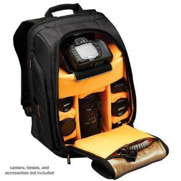 Amazon.com : Case Logic Digital SLR Camera Backpack Case (Black) (SLRC-206) for Canon EOS 7D, 5D Mark II III, 60D, Rebel T3, T3i, T2i Digital SLR Cameras : Photographic Equipment Bag Accessories : Camera & Photo