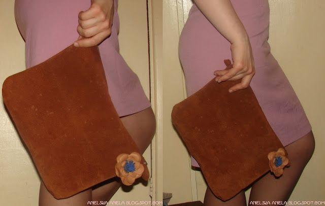 Trashion-DIY ..Tutorial.. leather  handbag clutch..skórzana torebka kopertówka ..jak uszyć skórzaną kopertówkę? diy