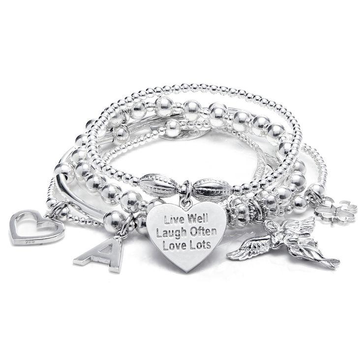 The ever popular Sama My Guardian Angel is a stunning 5 strand bracelet.