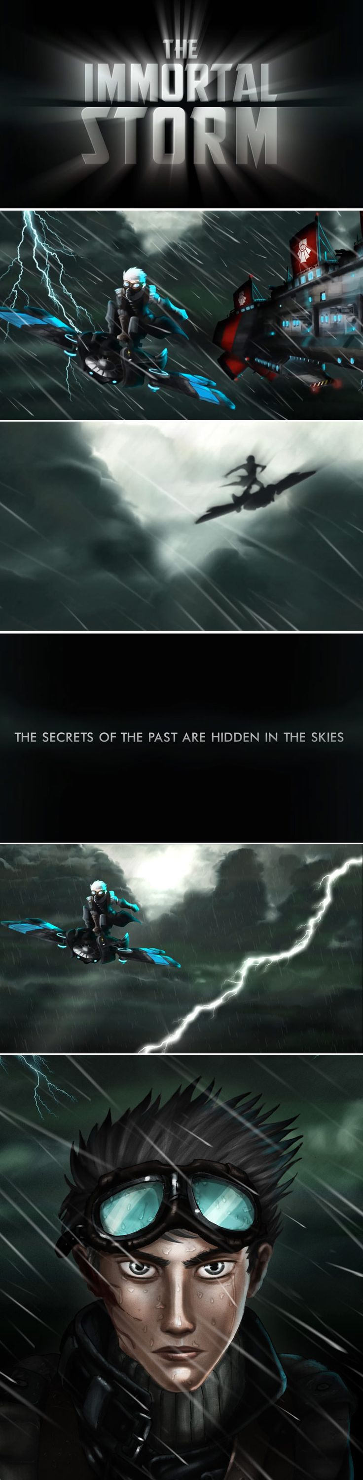 The Immortal Storm illustrations and trailer images.