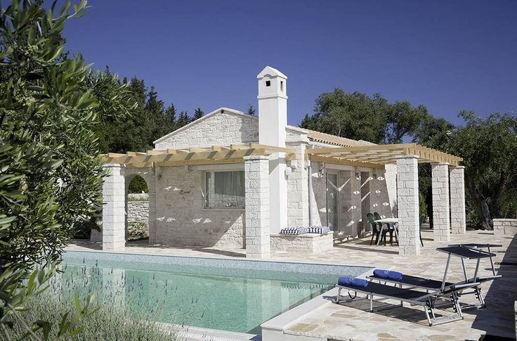 Villa Sal Paxos Sleeps up to 2. Peacefully positioned amid the olive groves, Villa Sal is a sweet secluded villa for two.