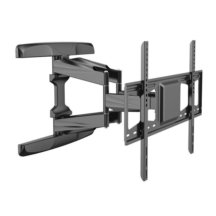 Full Motion TV Wall Mount Articulating TV Bracket Fits for 42 in. - 70 in. TVs Up to 99 lbs., Black