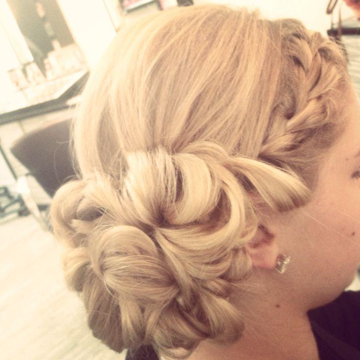 Homecoming, prom, wedding hair  Posh SalonSpa Tampa 8138391882