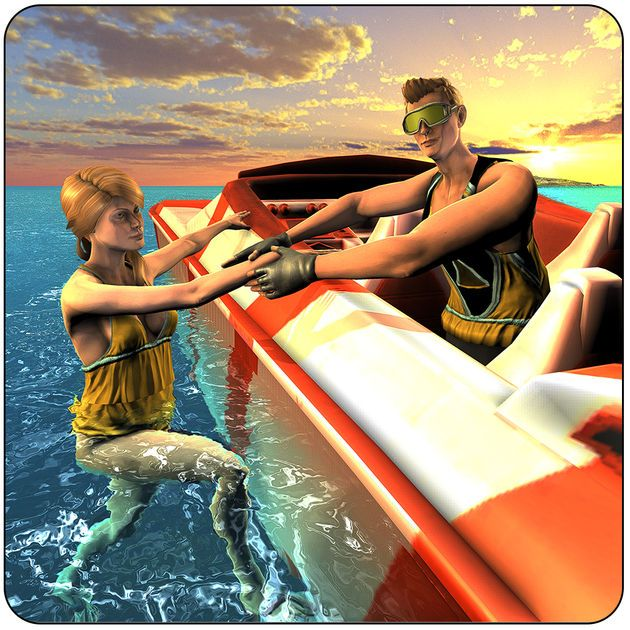 #NEW #iOS #APP Beach Rescue Lifeguard Game - Zohaib Iftikhar