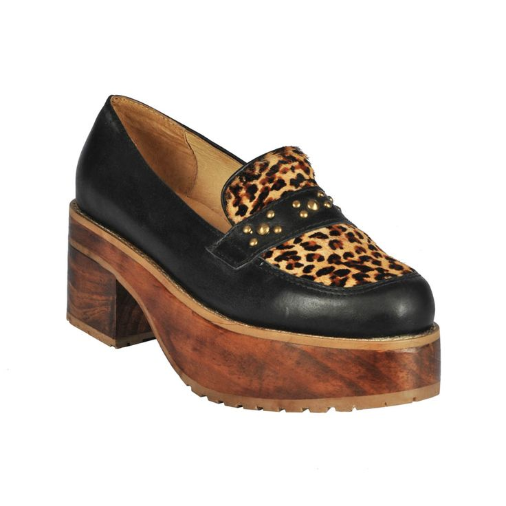 Zapato de mujer Skyler con animal print