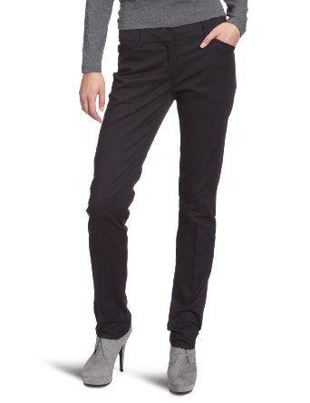 VERO MODA Damen Hose 10083619 Baina LW SP Straight Pant Straight Fit (Gerades Bein) Niedriger Bund: Amazon.de: Bekleidung