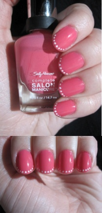 A new take on french nails!