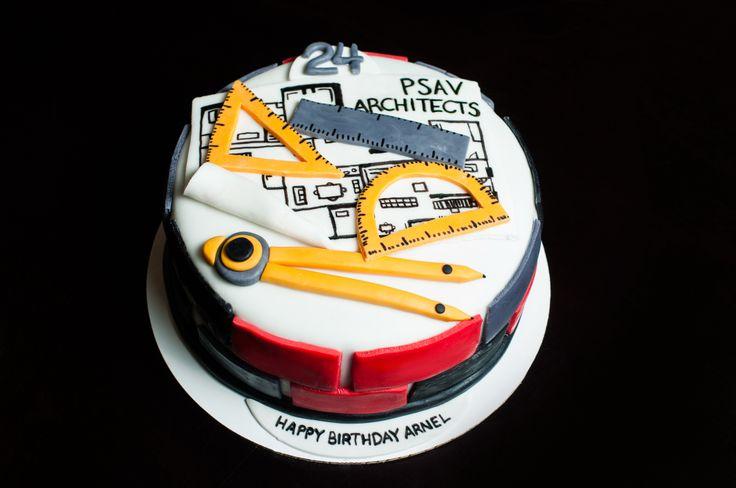 Architect cake - cake for an architect - architect themed cake - architect…