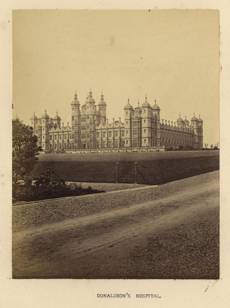"https://flic.kr/p/21WCyVy | Archibald Burns - Donaldson's Hospital,1868 | Maker: Archibald Burns (1831-1880) Born: Scotland Active: Scotland Medium: albumen print Size: 3 1/8"" x 4 1/8"" Location:   Publication: R.M. Ballantyne, Photographs of Edinburgh, Andrew Duthie, Glasgow, 1868, pg 79  Other Collections:  Notes:   To view our archive organized by Collections, visit: OUR COLLECTIONS  For information about reproducing this image, visit: THE HISTORY OF PHOTOGRAPHY ARCHIVE"
