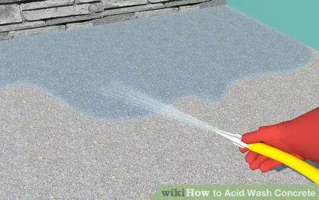 Image titled Acid Wash Concrete Step 1