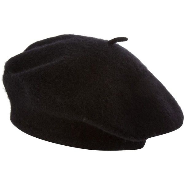 Wool beret (760 RUB) ❤ liked on Polyvore featuring accessories, hats, cappelli, beret, hair accessories, women, beret hat, linea, wool beret hat and wool hat