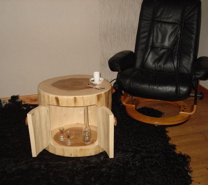 Couchtische   Baumstamm   Beistelltisch   Ein Designerstück Von Boholz Bei  DaWanda
