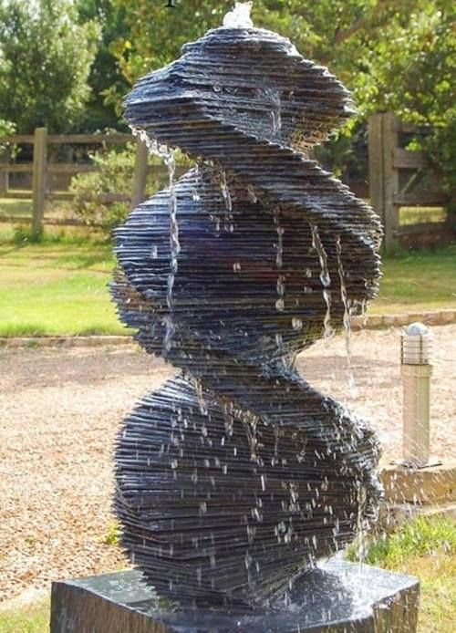 Mind Blowing Slate Sculptures By Stephen Kettle #Waterfeatures