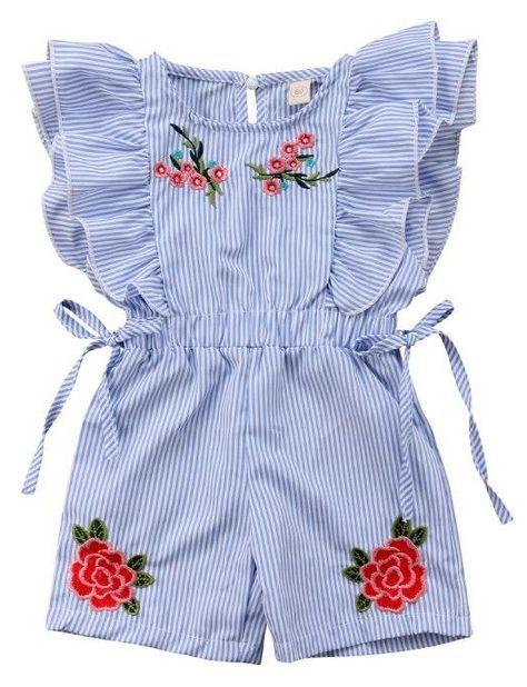 edd6fe2686c7 SHOP Our Floral Ruffled Romper for Toddler Girls