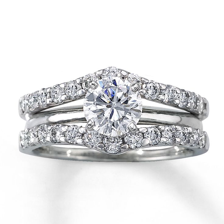 A 'solitaire enhancer' wedding band - it would showcase my diamond beautifully!