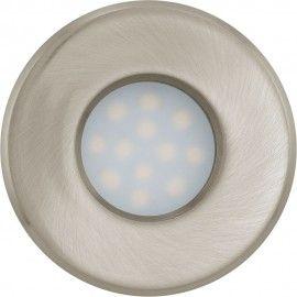 Art Exhibition LED Igoa IP Fixed Bathroom Downlight Satin Nickel Suitable for bathrooms too
