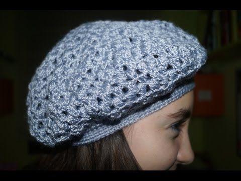Cómo tejer una Boina Caída (Slouchy Beanie) a Crochet - ¡TUTORIAL ANIVERSARIO! - YouTube