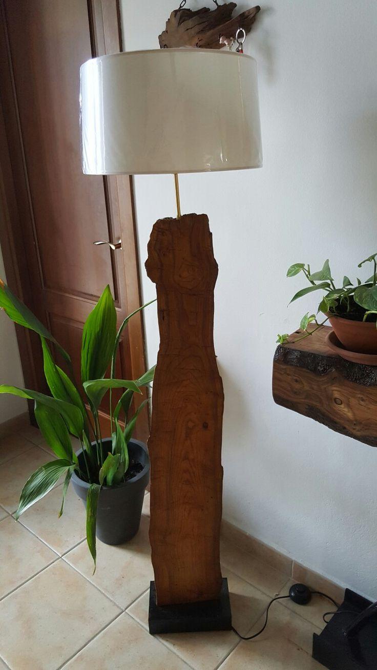 Lampara de diseño moderno de olivo