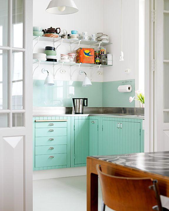 kitchen / mint