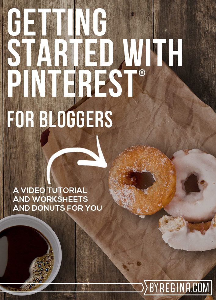 A free mini-training on Getting Started with #Pinterest For #Bloggers. Worksheets and a video tutorial that cover the seven areas to set up and pay attention to when starting to use Pinterest for your #blog.