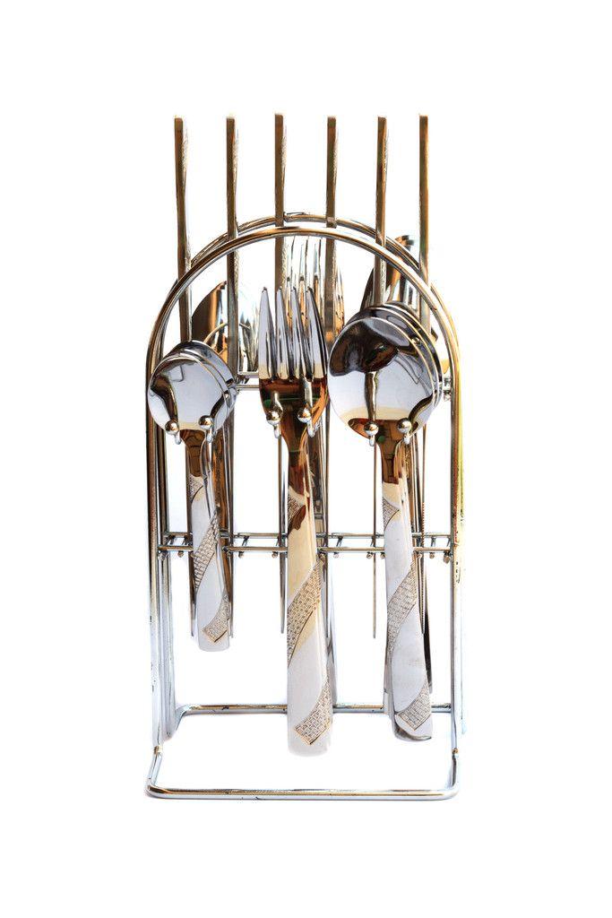 Stainless Steel Cutlery Set - Cutlery - Homeware Online – Restful Spaces