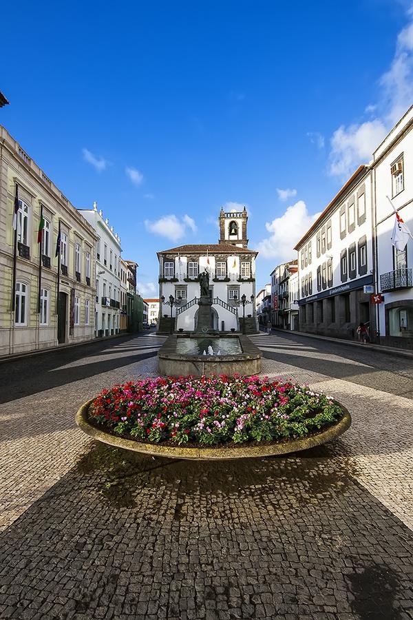 Largo do Município S. Miguel  Açores Portugal