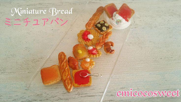 Miniature Bread iphone case,iphone 6s plus,iphone 6s,Decoden Phone Case Handmade