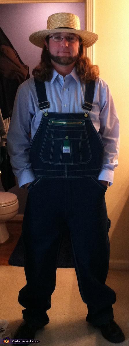 Amish Guy Costume