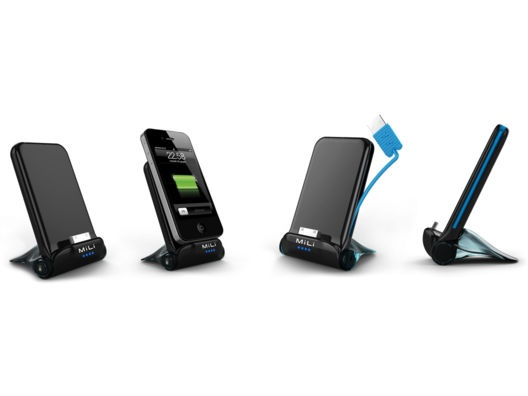 """Power Cooper Charging Stand for iPhone and iPod (3000 mAh) by MiLi Power from Kurt """"CyberGuy"""" Knutsson on OpenSky"""