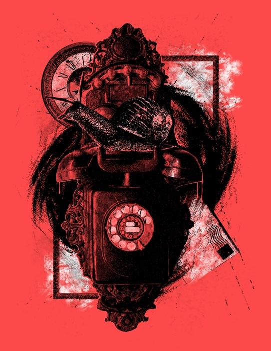 Poster design. Communication Breakdown.
