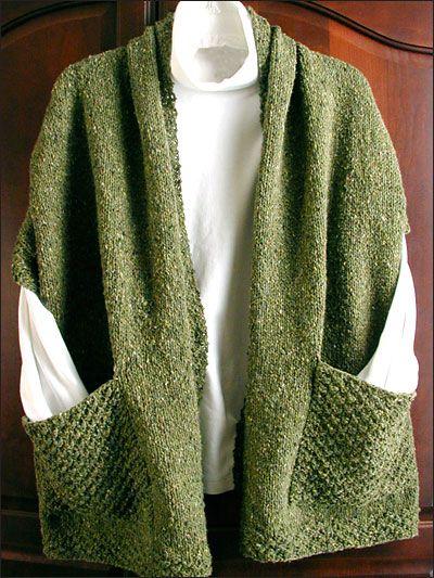 25+ best ideas about Knit Wrap Pattern on Pinterest Knit ...