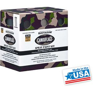 Rust-Oleum Camouflage 6-Pack Spray Kit