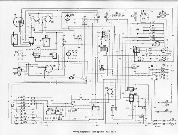 Wiring Diagram For 2002 Mini Cooper In 2020