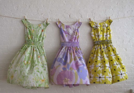50's inspired vintage prints tea dress collection