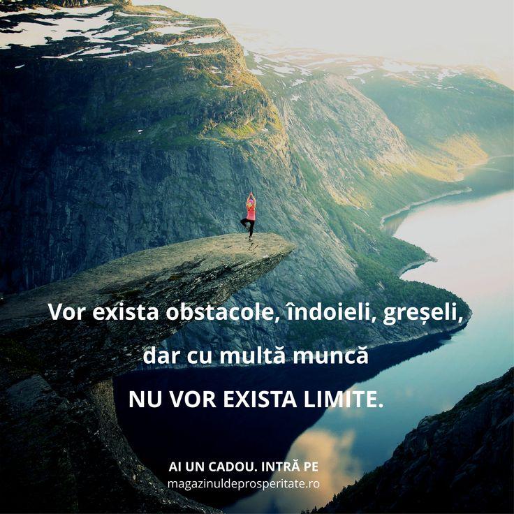 Visează, depășește obstacolele și uită de limite