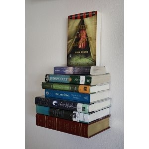 Invisible Book Shelf