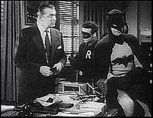 Screen capture of Batman and Robin Movie serial 1949
