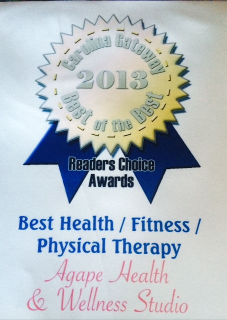 Carolina Gateway 2013 Best of the Best Health, Physical Therapy Fitness Center in Indian Land, SC