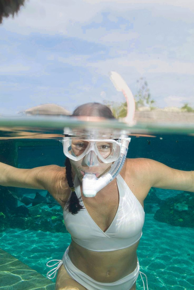 Amber michaels blue bikini