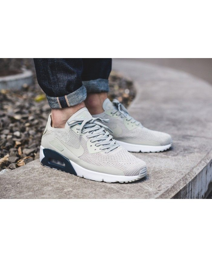 Nike Air Max 90 Ultra 2.0 Flyknit Armory Navy Sale UK | Nike