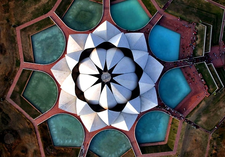Lotus Temple Delhi Travel Spots Favorite Places Of