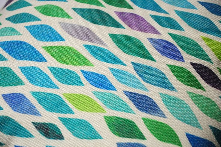 Современный стиль дом подушки, Акварель геометрические узоры, Зеленый наволочки, Декоративные подушки броска, Чехол купить на AliExpress